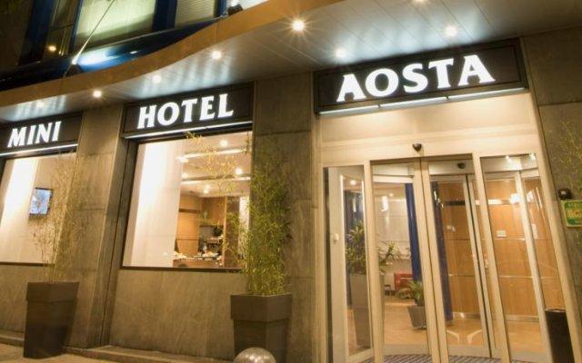 Hotel Aosta Милан вид на фасад