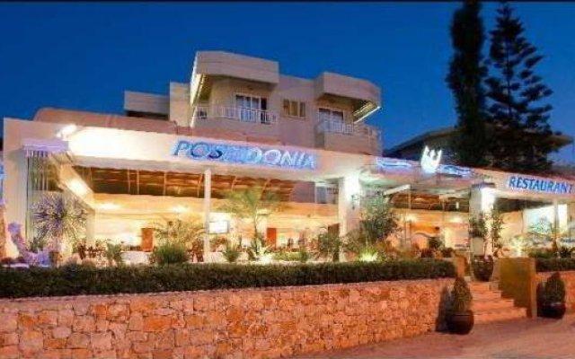 Отель Blue Eyes вид на фасад