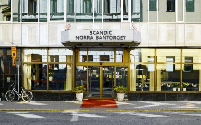Отель Scandic Norra Bantorget вид на фасад