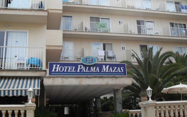 Hotel Palma Mazas вид на фасад
