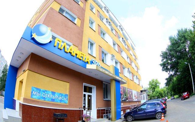 Отель Планета Spa Тамбов вид на фасад