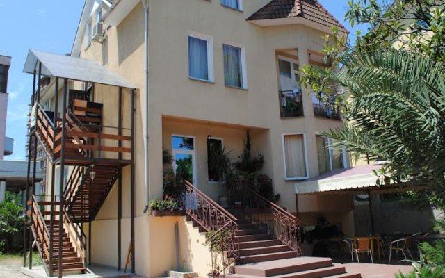 Гостевой дом Сапфир вид на фасад