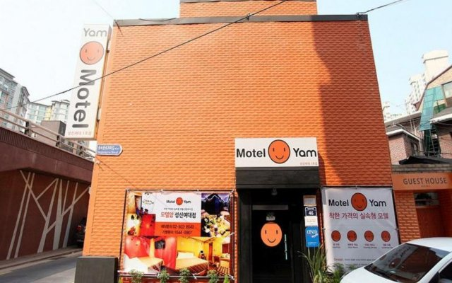 Отель Motel Yam Sungshin вид на фасад