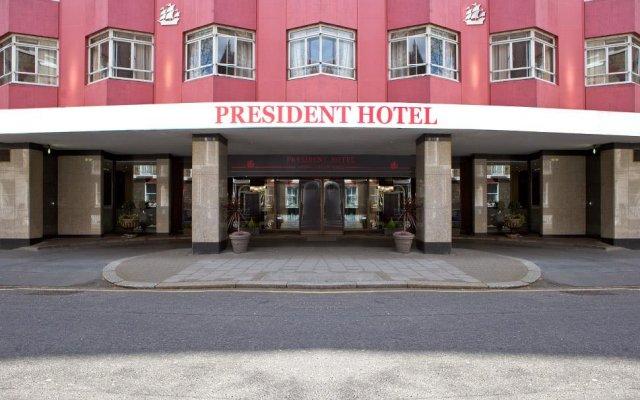 The President Hotel вид на фасад
