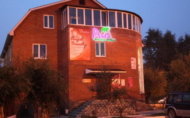 Гостиница Гостевой дом «Рио» в Уссурийске отзывы, цены и фото номеров - забронировать гостиницу Гостевой дом «Рио» онлайн Уссурийск вид на фасад