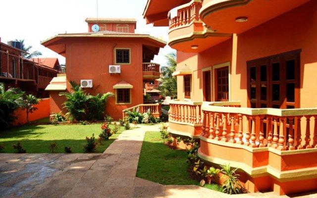 Отель Ruffles Beach Resort Гоа