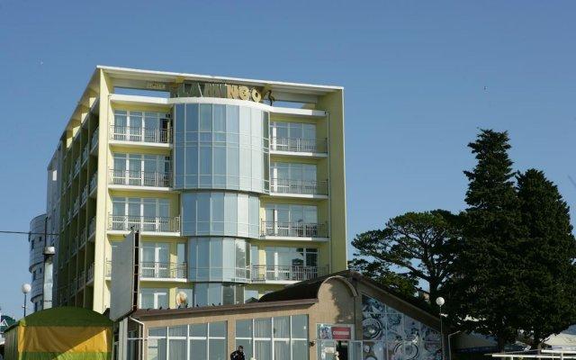 Гостиница Фламинго вид на фасад
