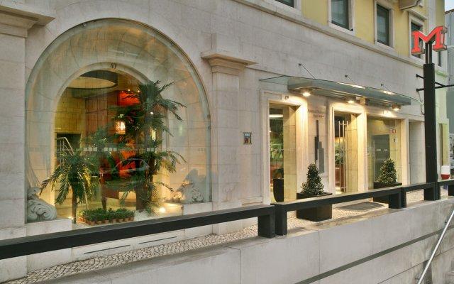 Отель America Diamonds вид на фасад