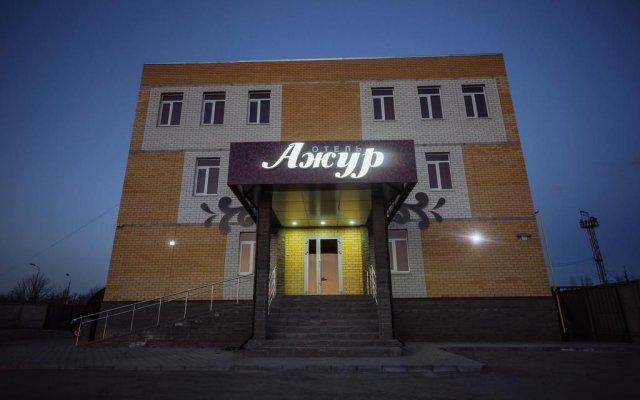 Гостиница Ажур вид на фасад