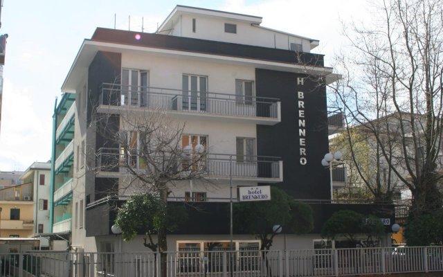Отель Brennero Италия, Римини - отзывы, цены и фото номеров - забронировать отель Brennero онлайн вид на фасад