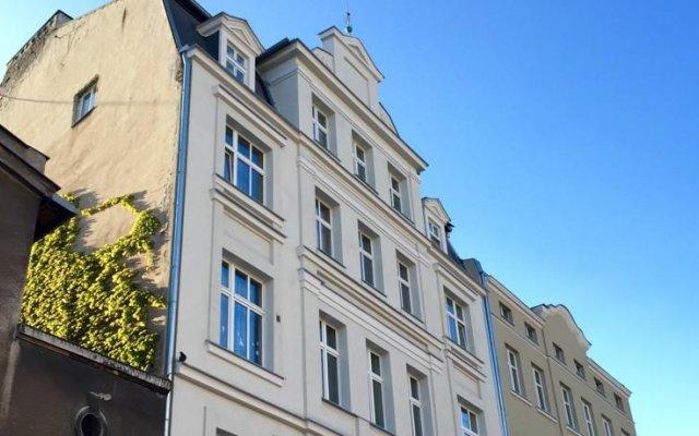 Отель 4th Floor Accommodation Гданьск вид на фасад