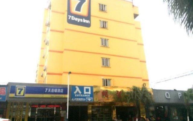 7 Days Inn Dongguan Women&Children Hospital Branch (отель для женщин и детей) вид на фасад