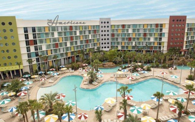 Отель Universals Cabana Bay Beach Resort бассейн