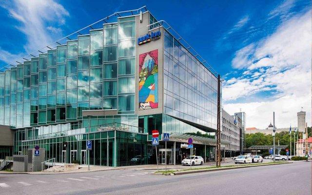 Park Inn by Radisson Meriton Conference & Spa Hotel Tallinn вид на фасад