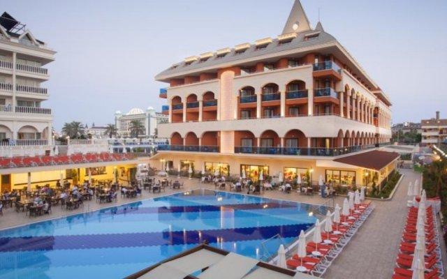 Отель Side Orange Palace бассейн
