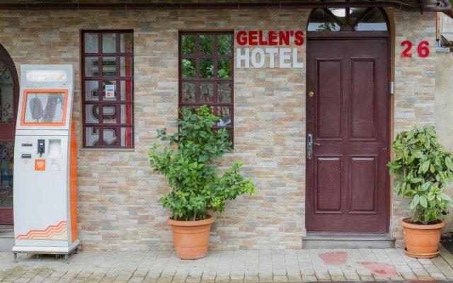 Отель Gelens Тбилиси вид на фасад
