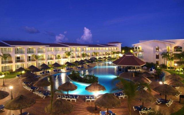 Отель Sandos Playacar Select Club - Только для взрослых, Все включено Плая-дель-Кармен вид на фасад