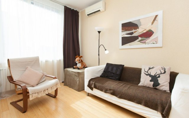 Апартаменты Kvart Смоленская Москва комната для гостей