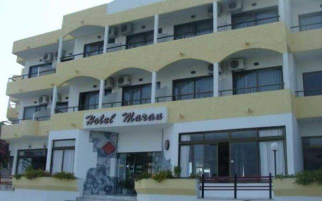 Отель Maran вид на фасад
