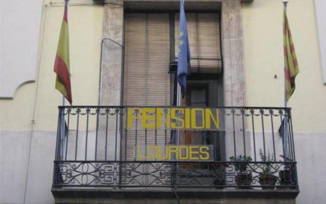Отель Lourdes Испания, Барселона - отзывы, цены и фото номеров - забронировать отель Lourdes онлайн вид на фасад