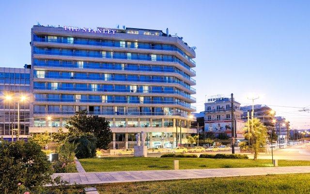 Отель STANLEY Афины вид на фасад