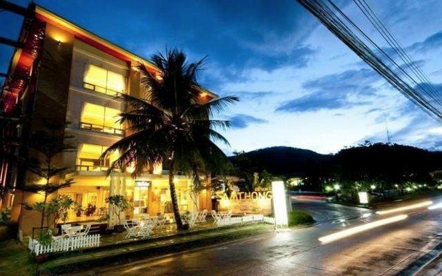 Отель Samthong Resort вид на фасад