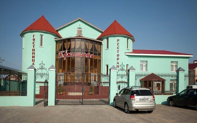 Гостиница Кристина парковка