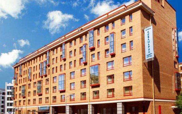 Гостиница Аквамарин вид на фасад