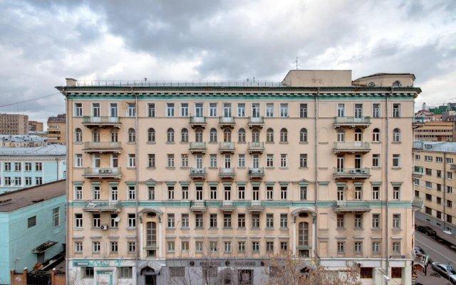 Апартаменты LikeHome Apartments Tverskaya Москва вид на фасад