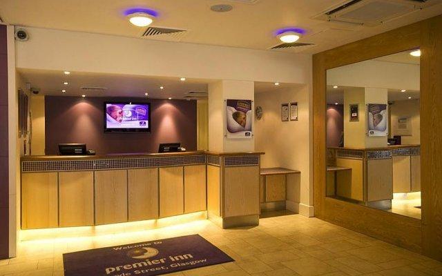 Отель Premier Inn Glasgow City Centre - Argyle Street интерьер отеля