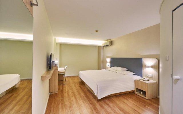 Отель Hanting Hotel Shenzhen Zhuzilin Китай, Шэньчжэнь - отзывы, цены и фото номеров - забронировать отель Hanting Hotel Shenzhen Zhuzilin онлайн комната для гостей