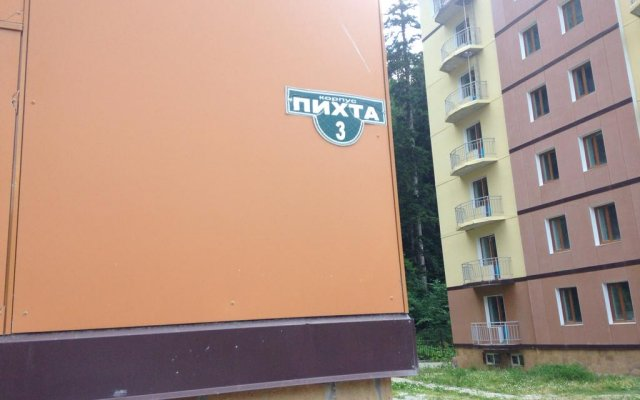 Апартаменты Apartment Pikhta 3 вид на фасад