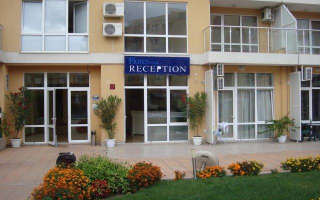 Отель Flores Park Apartments Болгария, Солнечный берег - отзывы, цены и фото номеров - забронировать отель Flores Park Apartments онлайн вид на фасад
