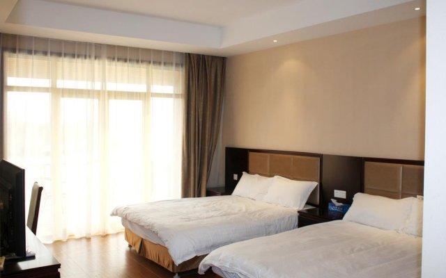 Отель Manhao Guesthouse Suzhou Xishan комната для гостей