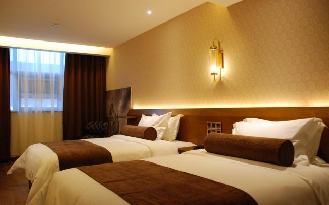 Отель James Joyce Hotel Xi'an Datang Furong Garden Китай, Сиань - отзывы, цены и фото номеров - забронировать отель James Joyce Hotel Xi'an Datang Furong Garden онлайн комната для гостей
