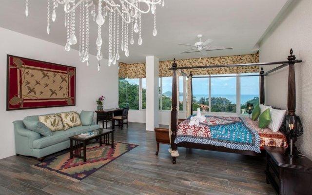 Отель Luxury Seaview Penthouse Kamala Beach комната для гостей
