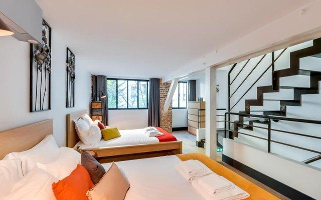 Апартаменты Sweet Inn Apartments - Rue Tardieu Париж комната для гостей