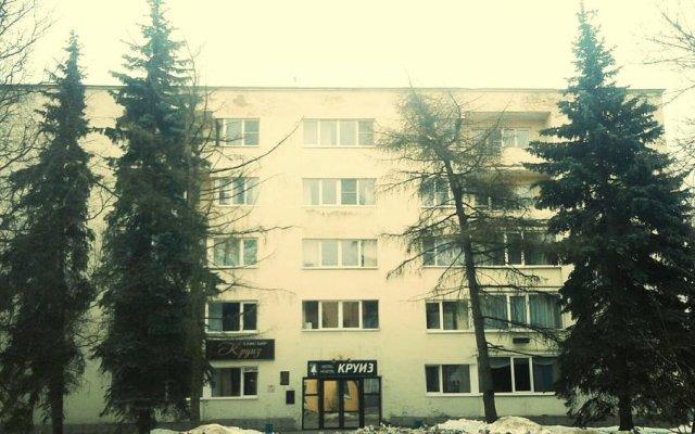 Гостиница Круиз - Большая Ель вид на фасад