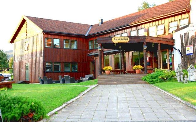 Lillehammer Turistsenter Budget Hotel вид на фасад