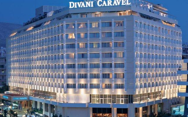 Отель Divani Caravel вид на фасад