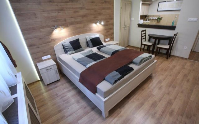 Апартаменты Premium Studio in the Center комната для гостей