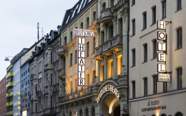Hotel Deutsches Theater Stadtmitte (Downtown) Мюнхен вид на фасад