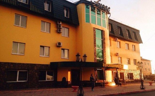 Гостиница Анзас вид на фасад