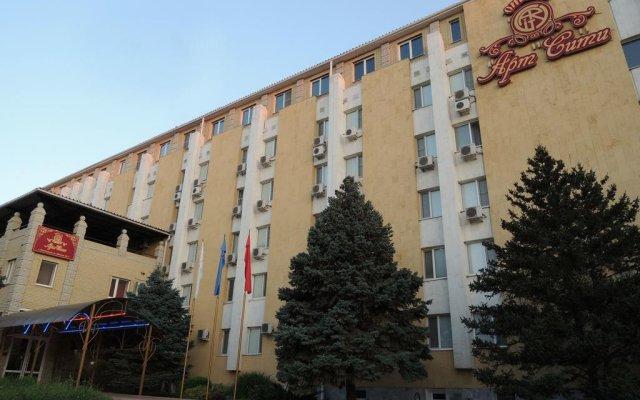 Гостиница Арт-Сити вид на фасад