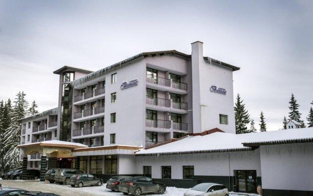 Отель Belmont Ski & Spa вид на фасад