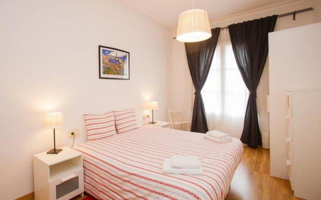 Отель Barcelona Center Muntaner Барселона комната для гостей