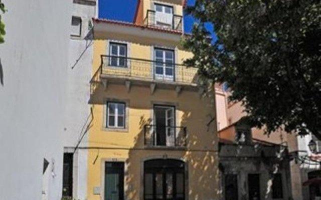 Отель Se de Lisboa I вид на фасад