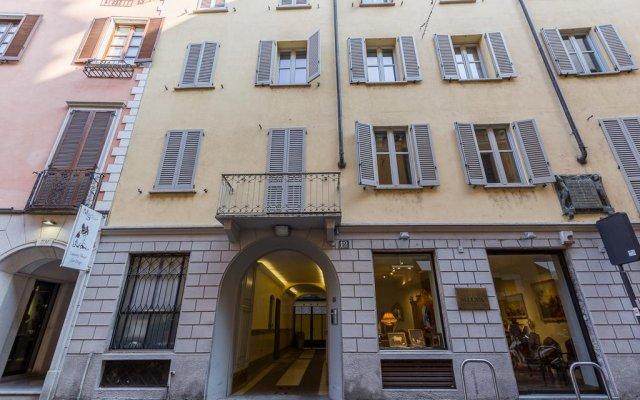 Отель Fifty Eight Suite Milan вид на фасад