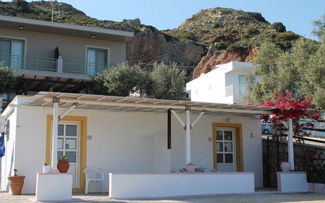 Отель Aroma Stegna Пляж Стегна вид на фасад