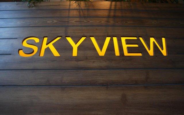 Апартаменты Sky View Luxury Apartments вид на фасад